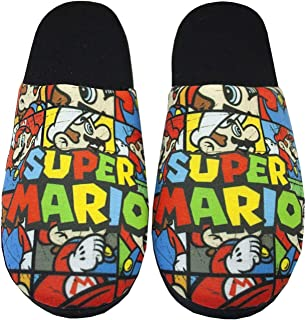 Super Mario Bros All Over Print Men's Slippers