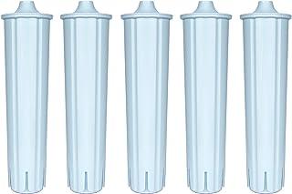 Lot de 5 filtres à eau compatibles avec Jura Claris Blue - Cartouches filtrantes GIGA - ENA 3 5 7 9 J9.2 J9.3 J9.4 J80 J85...