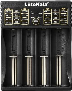 LiitoKala Lii-402 Smart Battery Charger 1.2V 3.7V 3.2V 3.85V AA/AAA for 18650 18490 18350 17670 17500 16340 14500 10440 Batteries