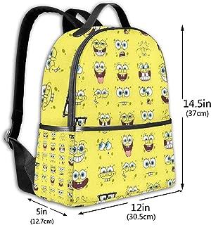 Classic School Backpack 580501 Unisex College Schoolbag Travel Bookbag Black
