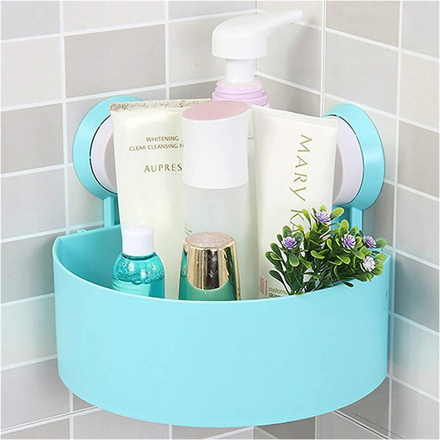 Bathroom shelf Corner Shower Caddy Suction Max 81% Don't miss the campaign OFF Shelf Bas Storage Cup