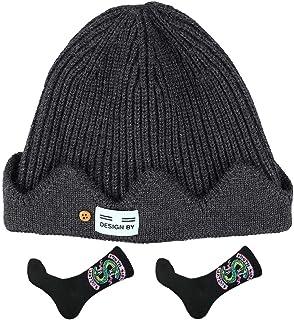Jacknb Jughead Jones Beanie Hat Riverdale Southside Serpents Socks Jugheads Hat(Brown/Black/Red/Gray)