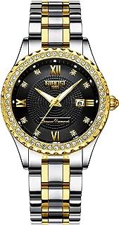 Womens Watch,Business Fashion Top Brand Luxury Dress Casual Watch Mesh Strap Waterproof Wristwatch