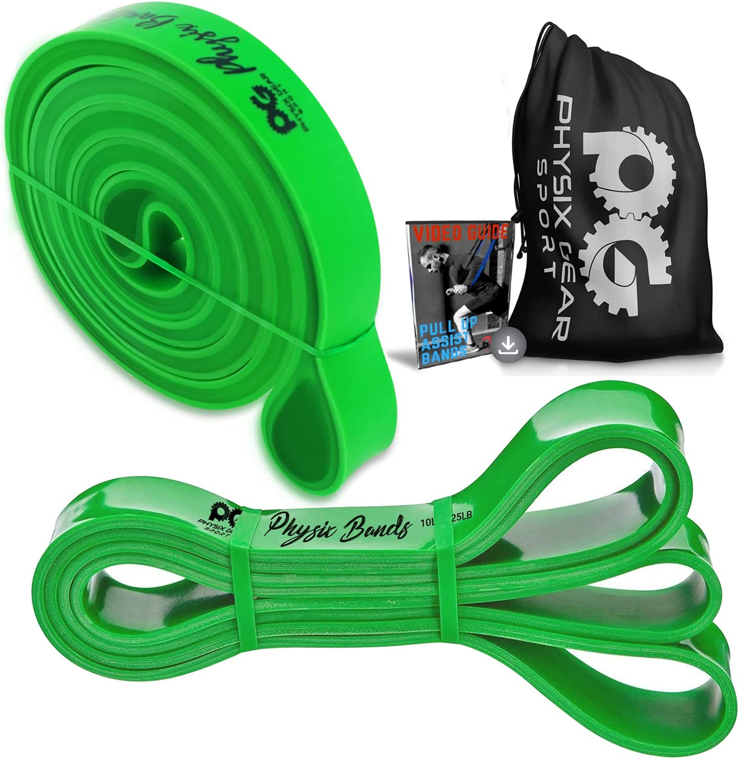 Pull Up Genuine Assistance Bands - Best Set Pu for Loop Resistance Lowest price challenge