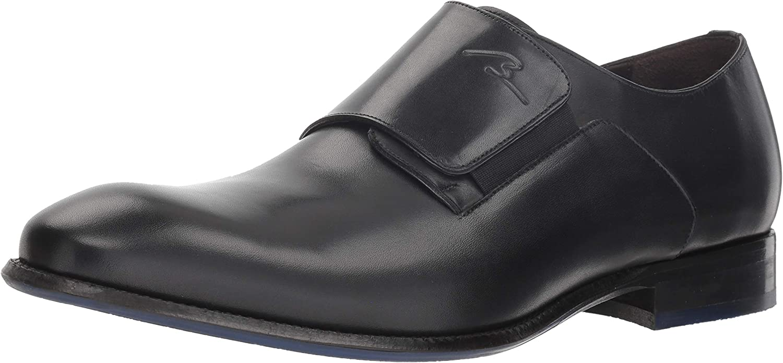 Bacco Bucci herrar Parish Monk -Strap Loafer, svart, 105 105 105 D USA  fri leverans