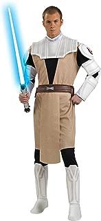 Rubie's Men's Star Wars Clone Deluxe Adult Obi-Wan Kenobi, Multicolor, X-Large
