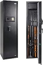 Rifle Safe Gun Safe Quick Access 5-Gun Shotgun Cabinet