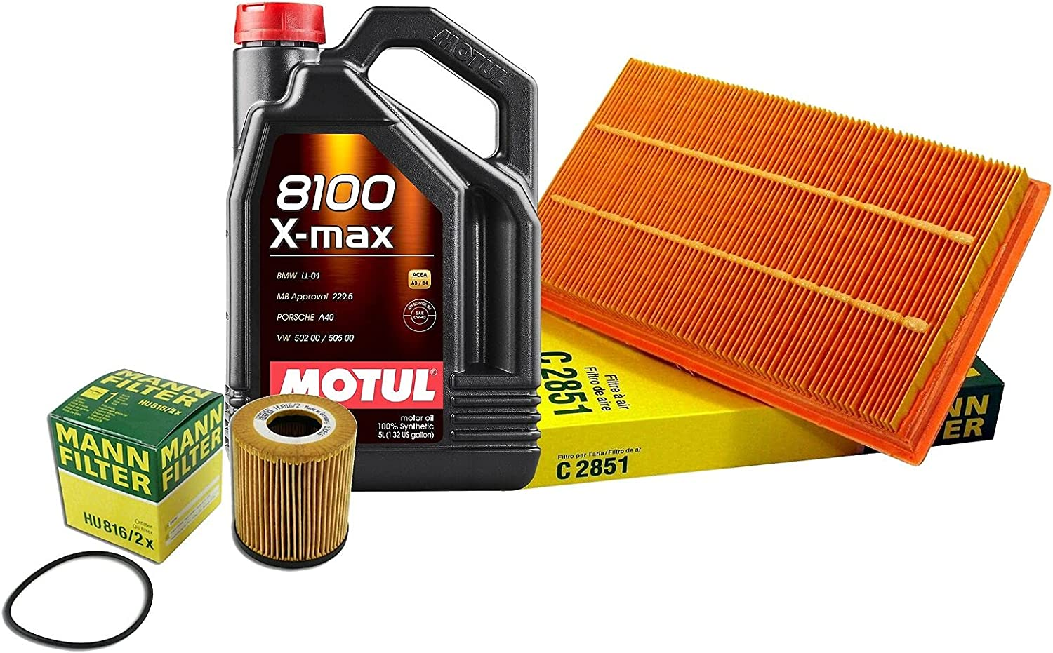 5L All items free shipping 8100 XMAX 0W40 Filter Motor Air Cooper W11 Tampa Mall Oil Change S kit