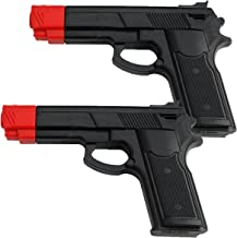 BladesUSA Rubber Training Gun Black and Red Head Painting (2 Pack)