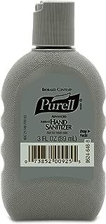 PURELL Advanced Hand Sanitizer Biobased Gel, Fragrance Free, 3 fl oz FST Rugged Portable, Travel Sized Military Bottles (Case of 24) - 9624-24