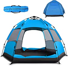 Instant Pop Up Tent Family Camping Tent Portable Light Weight Tents Automatic Easy Setup Tent Waterproof Windproof Backpac...
