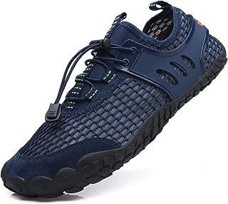 EXEBLUE Men Women Water Shoes Lightweight Breathable Mesh Aqua Shoes for Swim Walking Lake Beach Boating