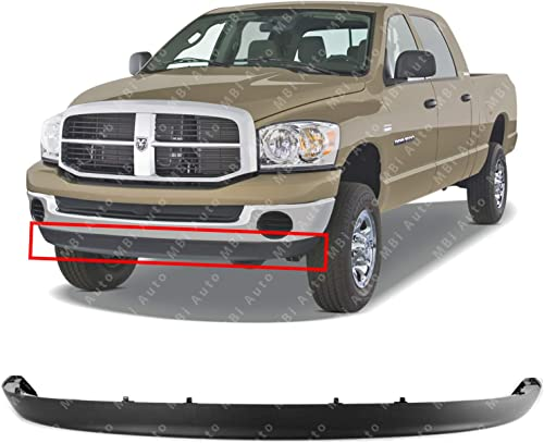 MBI AUTO - Textured, Lower Front Bumper Air Deflector for 2002-2009 Dodge RAM 1500 2500 3500 Series Pickup 02-09, CH1...