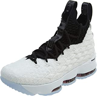 Lebron XV (Kids) White/Black