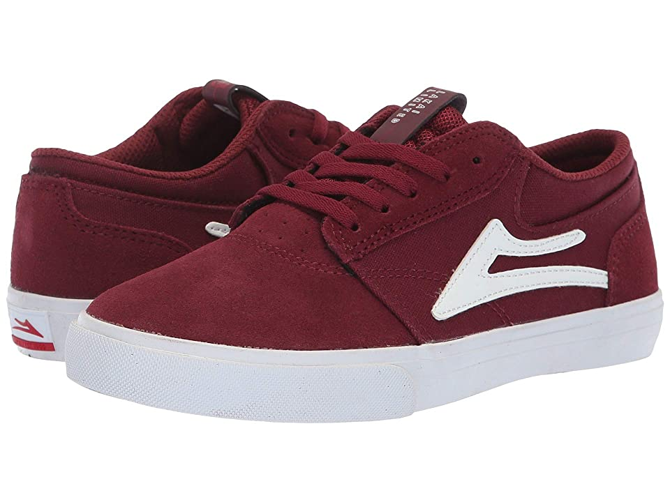 Lakai Griffin (Little Kid/Big Kid) (Burgundy Suede) Men