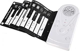 Roll Up Piano Portable Electronic Piano for Kids,49 Keys F