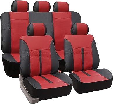 2er Schonbezüge Polyester Blau Auto Sitzbezüge für Mazda Skoda Subaru Hyundai