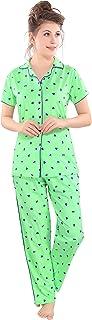 Pierre Donna women's cotton pajamas set cotton pajama pants women sleepwear sets for women and girls pajama set women nigh...