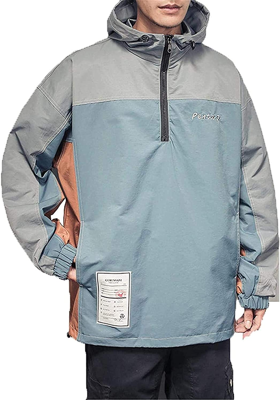 Autumn Jackets Hip Hop Hooded Patchwork Mens Jacket Coat Male Hoodies Men Couple Streetwear Hoody Bomber Jacket