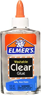 Elmer's washable clear glue 4 count