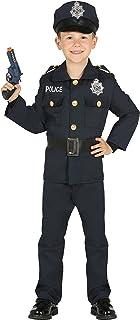 Guirca- Disfraz policía, Talla 7-9 años (87457.0