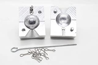Sponsored Ad - best_nj Fishing Weights Sinker Mold Round CNC Aluminium