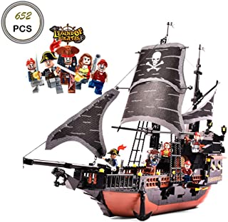 Keefe GUDI Building Blocks Sets Black Pearl Ship Model 9115 (No Original Box,New in Sealed Bag )