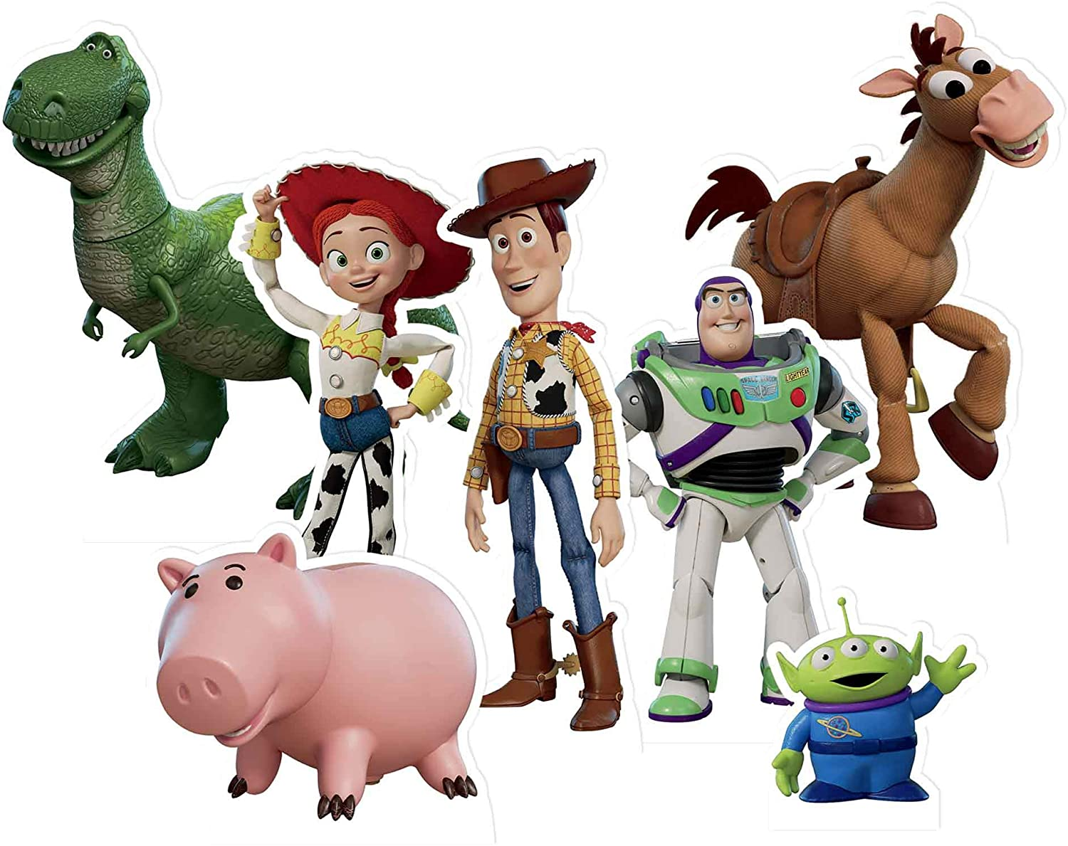 Dedication Star Houston Mall Cutouts Ltd TT018 Toy Story 7 Cut-Outs Toppers Pack Perfe