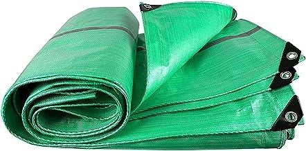 ZZYE Dekzeil Multifunctionele Tarps Green Polyethyleen Plastic Outdoor Tarpaulin, 240g / m2 zonnezeil (Color : Green, Size...