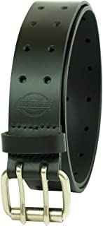 Dickies Men's Leather Double Prong Belt