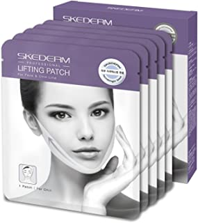 SKEDERM Lifting Band Patch for Face and Chin Line, Reduces Double Chin, V Line, Chin Up,..