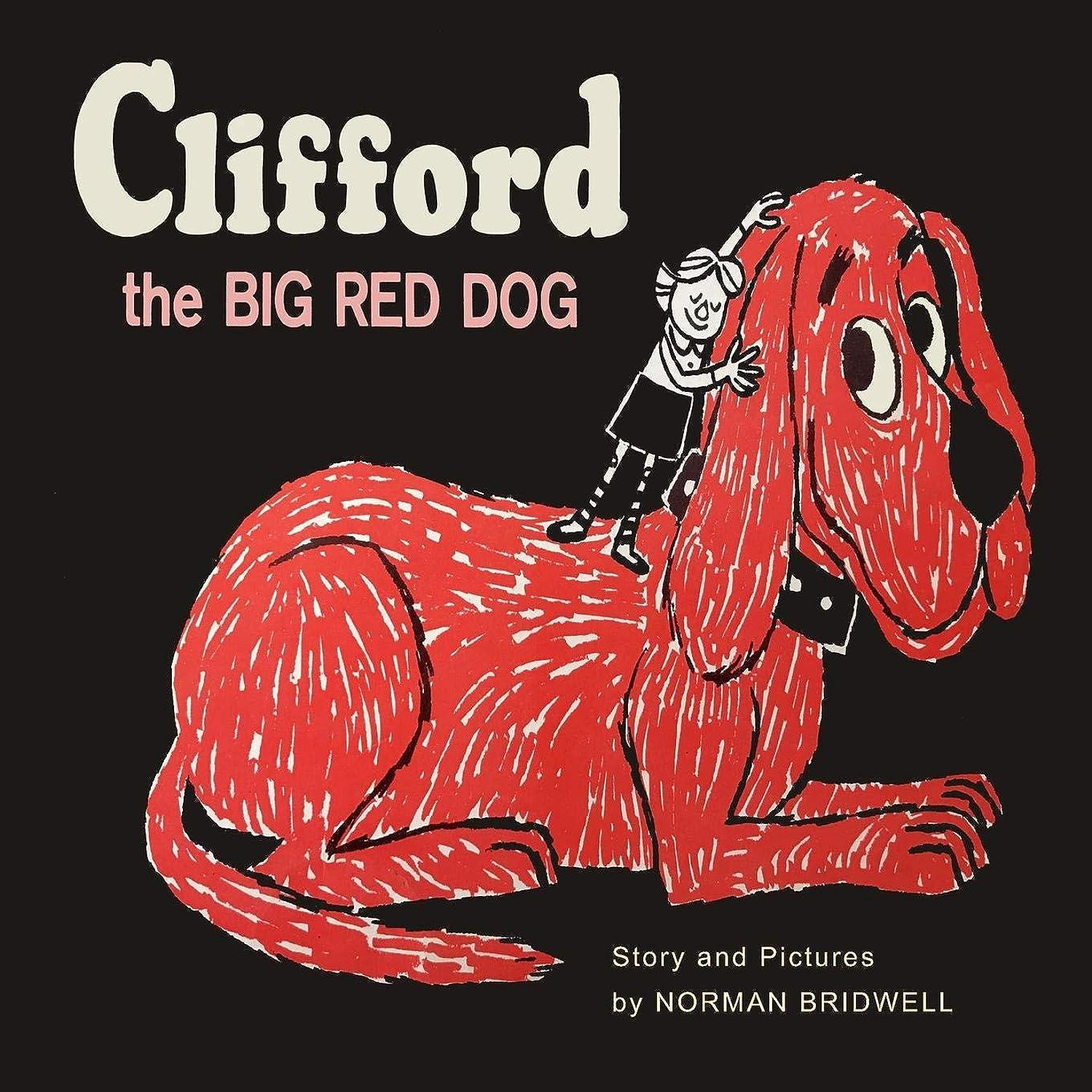 クラッチ最大限黒Clifford The Big Red Dog: Color Facsimile of 1963 First Edition