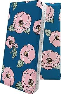 ケース isai V30+ LGV35 互換 手帳型 花柄 花 フラワー かめりあ イサイ プラス 和柄 和風 日本 japan 和 isaiv30 plus おしゃれ