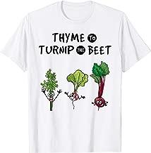 Thyme to Turnip the Beet Shirt Funny Gardener Vegan T-Shirt