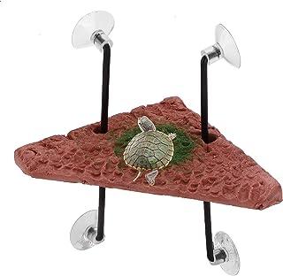 CHICIRIS Platforma żółwi, akcesoria do baków pływająca platforma może ułatwić raczkowania dla żółwi dla salamandry dla żab...