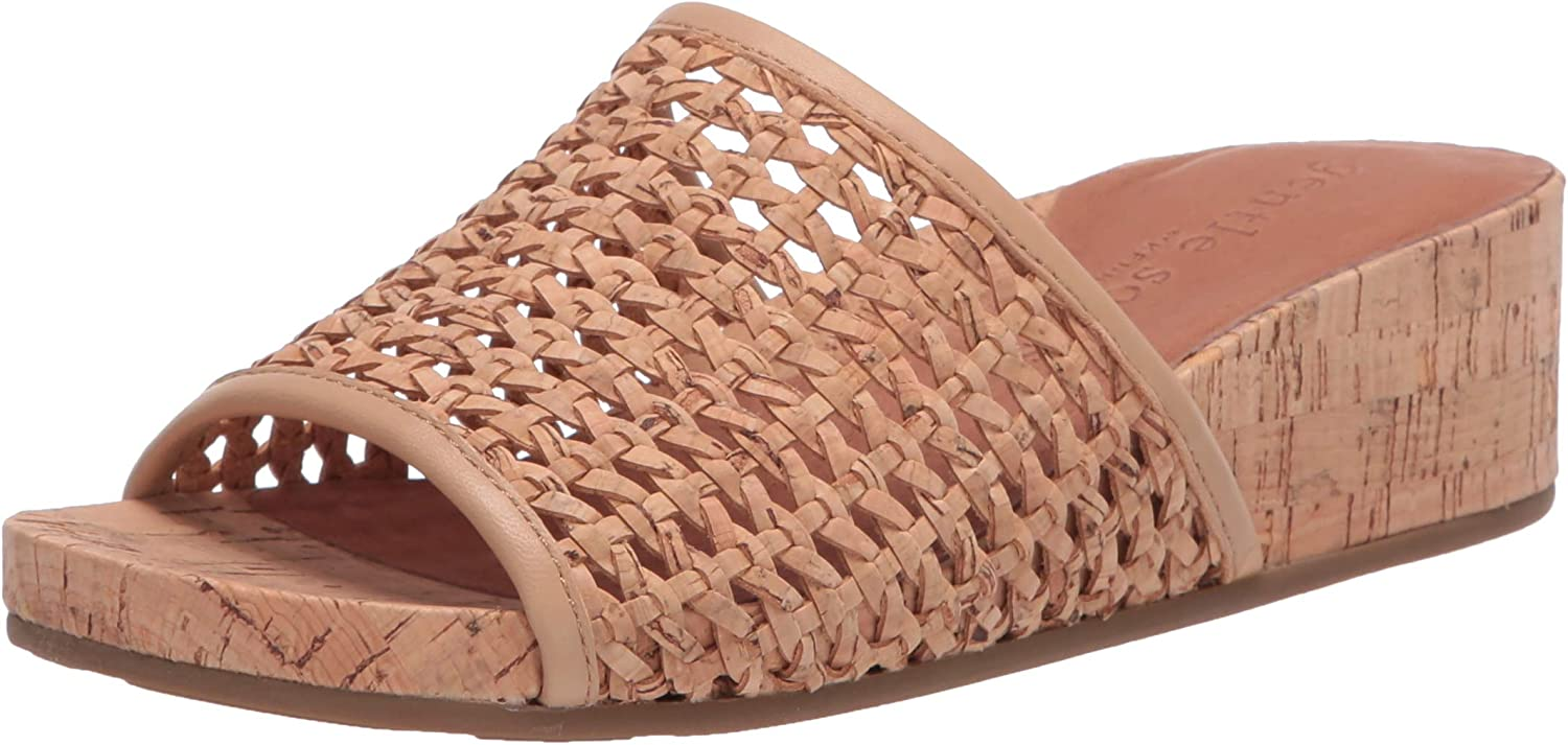 Gentle Souls by Price reduction Kenneth Cole Slide Sandal Gisele National uniform free shipping Women's Wedge