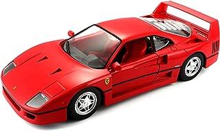 Bburago B18-26016 1:24 Scale Race and Play of The Ferrari F40 Sports Car Die-Cast Model