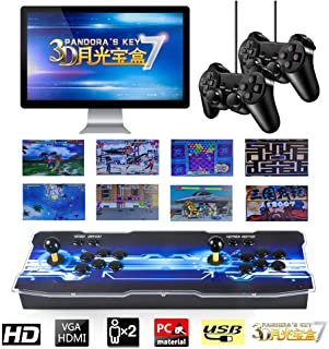 ARCADORA Pandora's Box 7 Joystick and Buttons Arcade Console Machines for Home, 2413 Retro Classic Video Games All in One, Newest System with Advanced CPU, HDMI Output