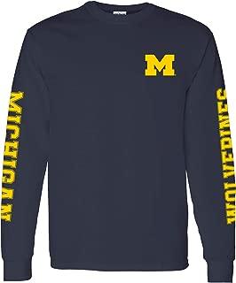 NCAA Double Sleeve Print, Team Color Long Sleeve, College, University
