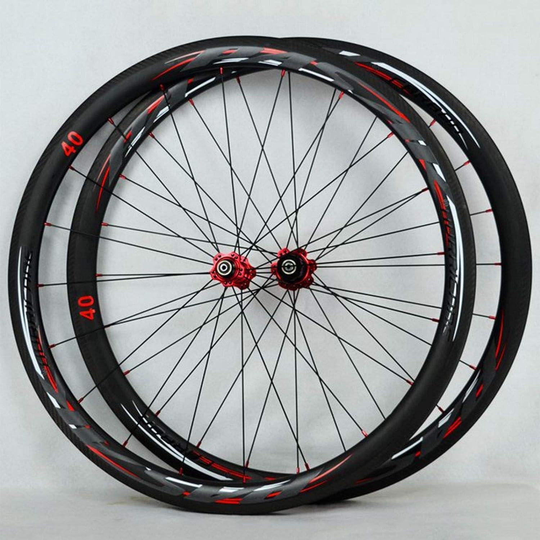 Max 84% OFF shopping CHICTI Road Bike Wheelset Carbon Fiber Hub Peilin 700C 4 Quick R