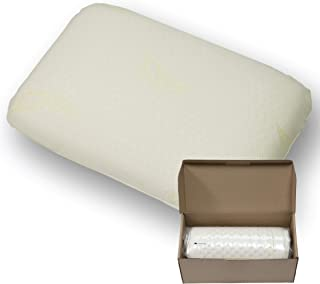 Infi-Touch Life - Superior 100% Natural Latex Pillow–Luxury Double Washable Fabric Cover. (Standard, Firm)