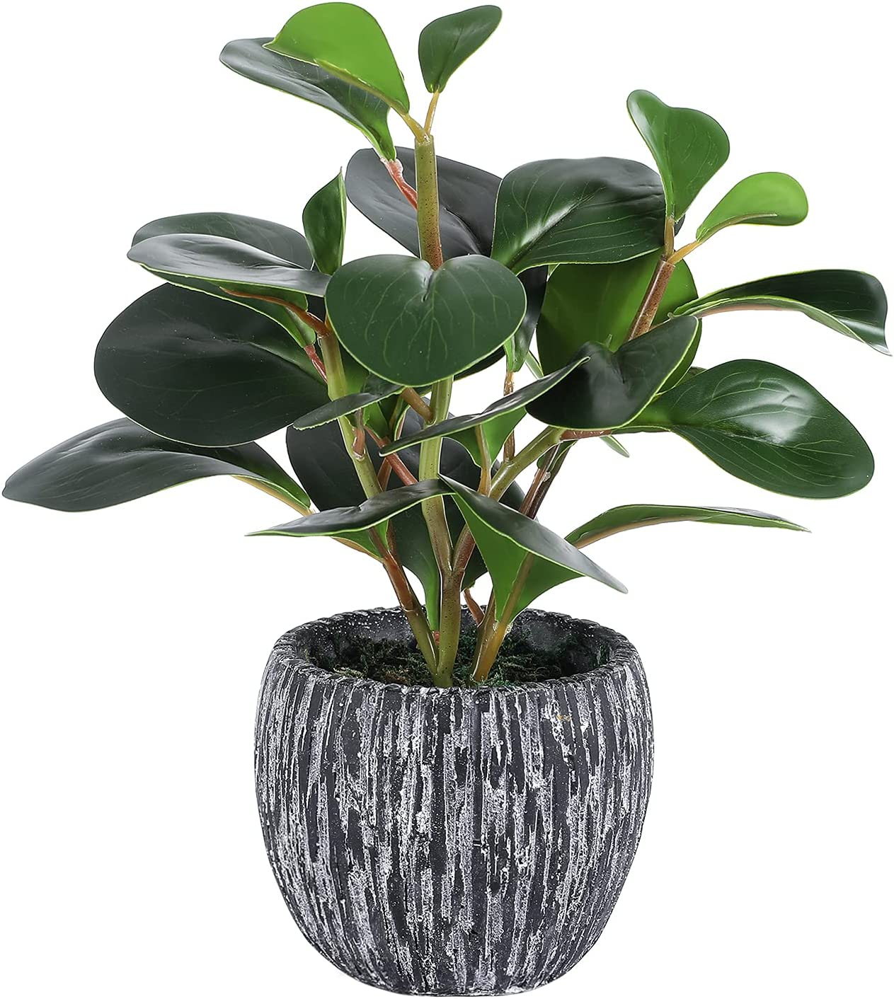 Fake Plants Mini Potted Artificial F Las Vegas Mall Plastic Safety and trust Real Looking