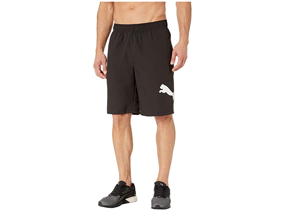 PUMA Tec Sports Woven Shorts (PUMA Black) Men