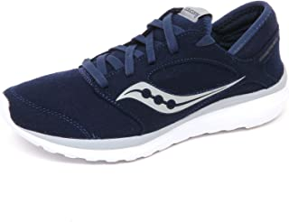 Saucony E7510 Sneaker Uomo Wool Kineta Relay Blu Scarpe Lana Shoe Man