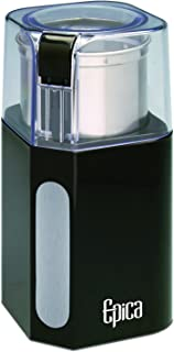 Epica Electric Coffee Grinder & Spice Grinder -Stainless Steel Blades and Removable..