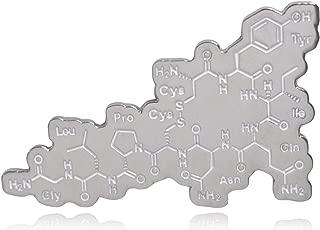 Clayton Jewelry Labs Oxytocin Molecule Hard Enamel Lapel Pin