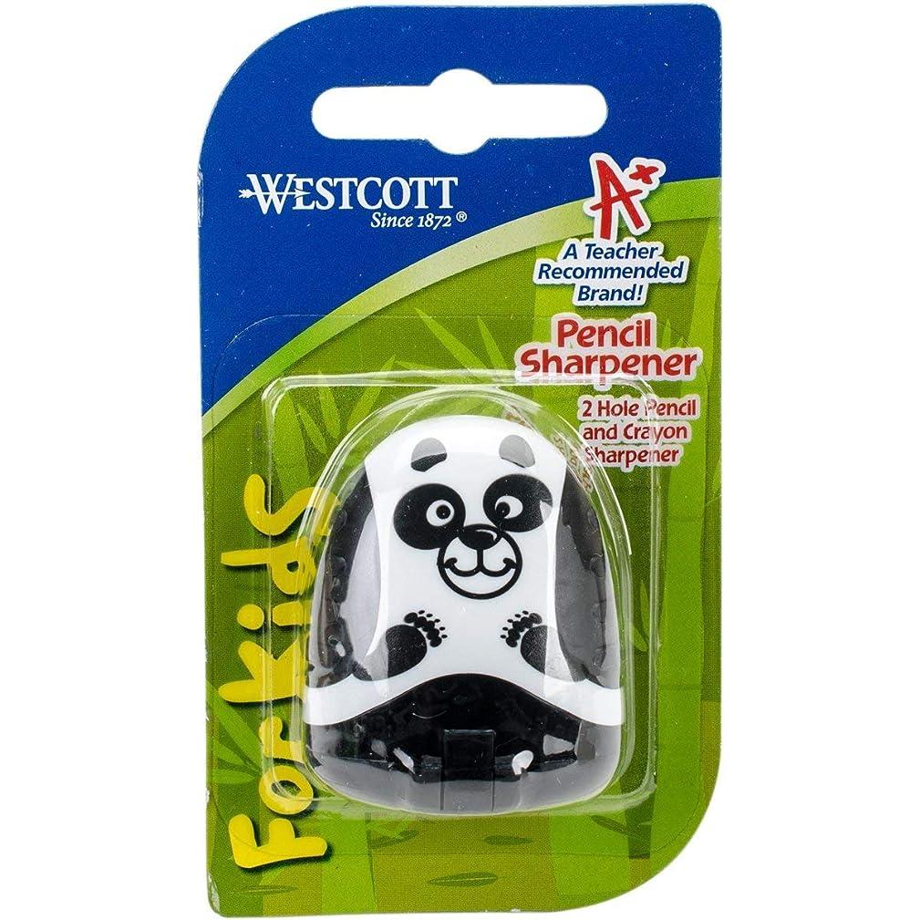 Westcott Panda 2 Hole Pencil Sharpener
