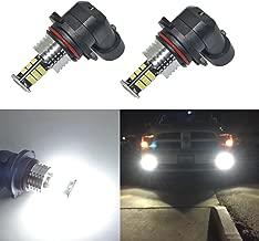 Alla Lighting Super Bright 9006 LED Fog Lights Bulbs 9006 LED Light Bulb 2000 Lumens LED 9006 Bulb 3020 30-SMD HB4 9006 LED Fog Light Bulbs Replacement for Cars,Trucks, 6000K Xenon White