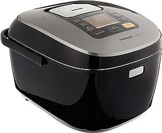 Panasonic 5-Layer Induction Rice Cooker with Diamond Kamado Pan, Black, 1.8L, (SR-HB184KSH)
