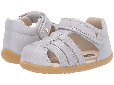 Bobux Kids Step Up Jump Sandal (Infant/Toddler) (Silver Shimmer 1) Girl